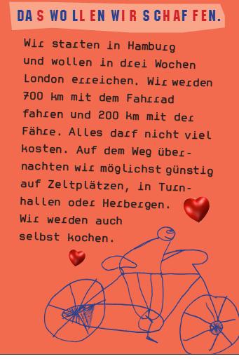 Von Hamburg nach London mit dem Fahrrad